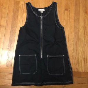 Black cotton jumper large Express vintage